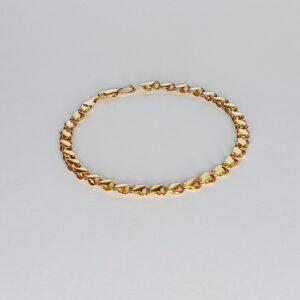 צמיד זהב דגם WBG572