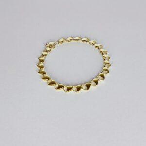 צמיד זהב דגם WBG183