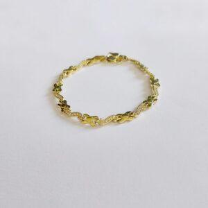 צמיד זהב דגם WBG190