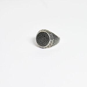 טבעת כסף לגבר דגם ורסאי MSR196