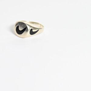 טבעת כסף קלאסית לגבר MSR189