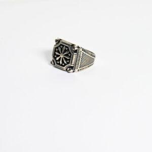 טבעת כסף לגבר דגם MSR176