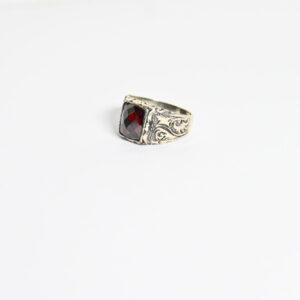 טבעת כסף לגבר דגם בולוניה MSR200