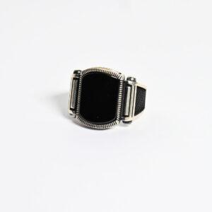 טבעת כסף לגבר דגם מדריד MSR175