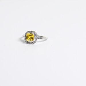 טבעת כסף דגם סטאר