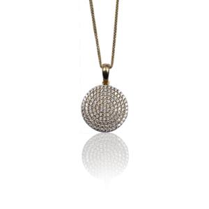 שרשרת זהב עם תליון דגם WP1146