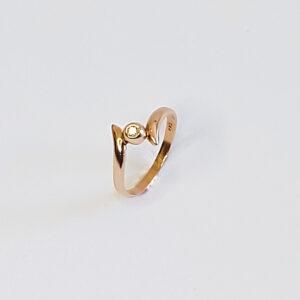 Бриллиантовое кольцо «Солитер» BR977
