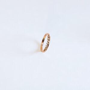 טבעת יהלומים דגם BR657