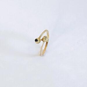 טבעת אירוסין דגם BR698