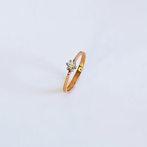 Betrothal Diamond ring model BR516