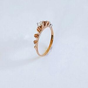 טבעת אירוסין מעוצבת דגם BR438