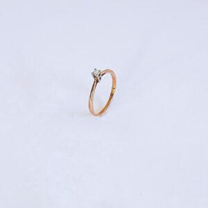 טבעת אירוסין דגם BR514