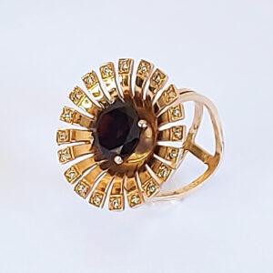 Дизайнерское кольцо с бриллиантами модель BR996
