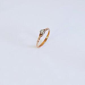 Betrothal Diamond ring model BR649
