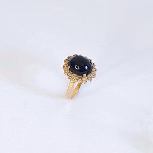 טבעת נסיכה דיאנה ספיר מרכזית דגם BR528
