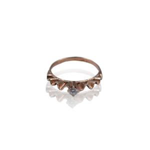 טבעת יהלום מעוצבת דגם BR517