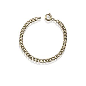 Золотой браслет для мужчин модель MBG656