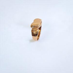 טבעת זהב לגבר דגם MR259