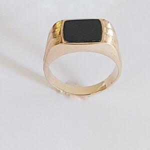 טבעת זהב לגבר דגם MR269