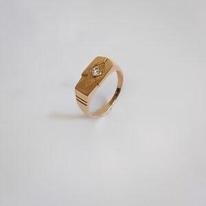 Золотое кольцо модель MR260
