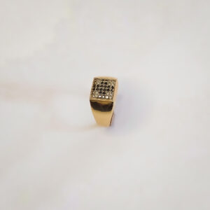 טבעת זהב לגבר דגם MR271