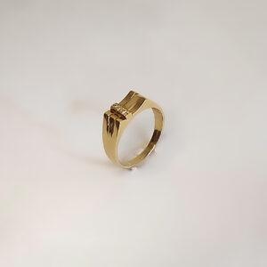 טבעת זהב לגבר דגם MR256
