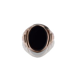 טבעת זהב לגבר דגם MR262