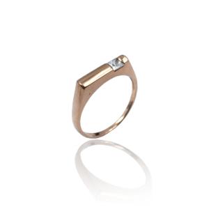 טבעת זהב לגבר דגם MR265