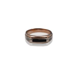 טבעת זהב לגבר דגם MR266
