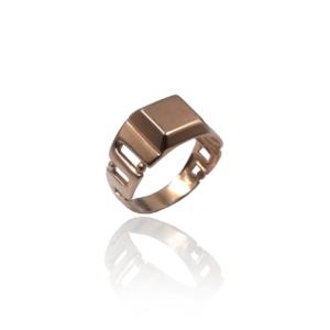 טבעת זהב לגבר דגם MR267