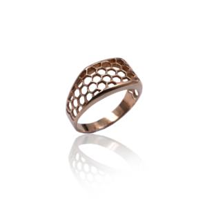טבעת זהב לגבר דגם MR272