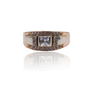 טבעת זהב לגבר דגם MR275