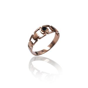 טבעת זהב לגבר דגם MR277