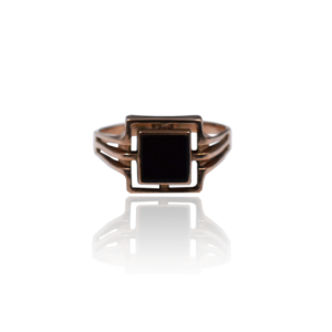 טבעת זהב לגבר דגם MR278