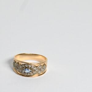 טבעת זהב דגם WRS300