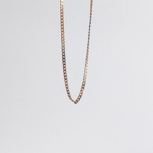 Gold chain for women model MW478