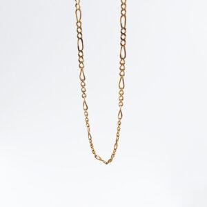 Gold chain for Man model MC441