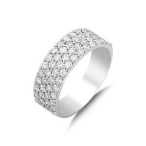 טבעת יהלומים מרשימה דגם RD1156