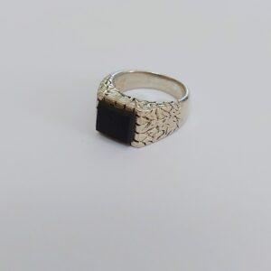 טבעת כסף לגבר דגם MSR179