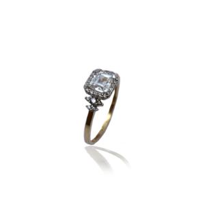 טבעת זהב מהממת דגם WR222