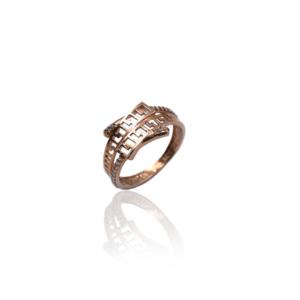 טבעת זהב בסגנון Versace דגם WR1026