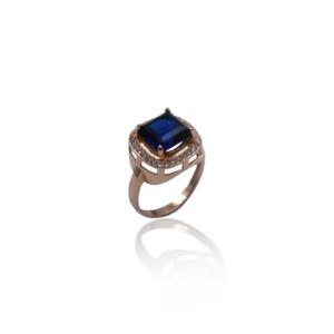 Великолепное золотое кольцо с Cапфиром модель WR1169