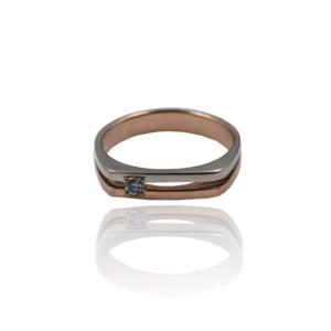 טבעת זהב לגבר דגם MR1200