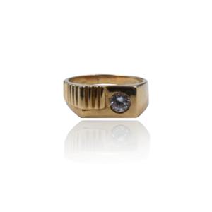 טבעת זהב לגבר דגם MR276