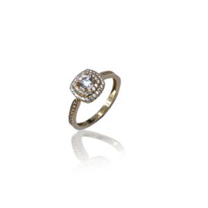 Великолепное золотое кольцо модели WR319