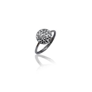 טבעת זהב לנשים פלטה דגם WR349